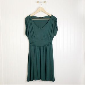Soprano green M short sleeve dress